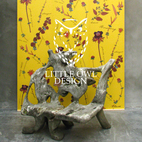 Designtapeten: Little Owl Design