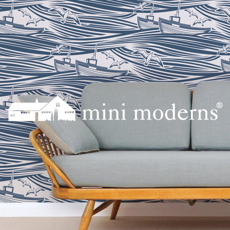 Designtapeten: mini moderns